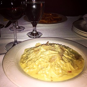 Tagliolini, White Truffle, Mascarpone, Barolo