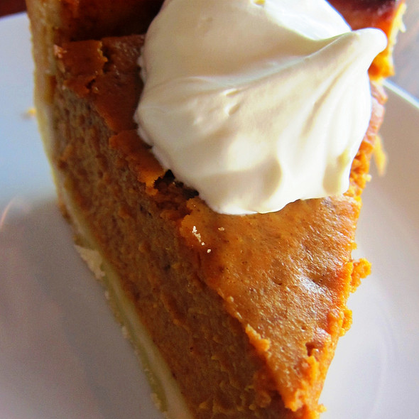 Pumpkin Pie @ Wildflour Café + Bakery