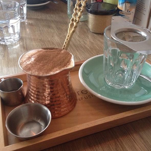 Chai Latte With Almond Milk @ Stovetop