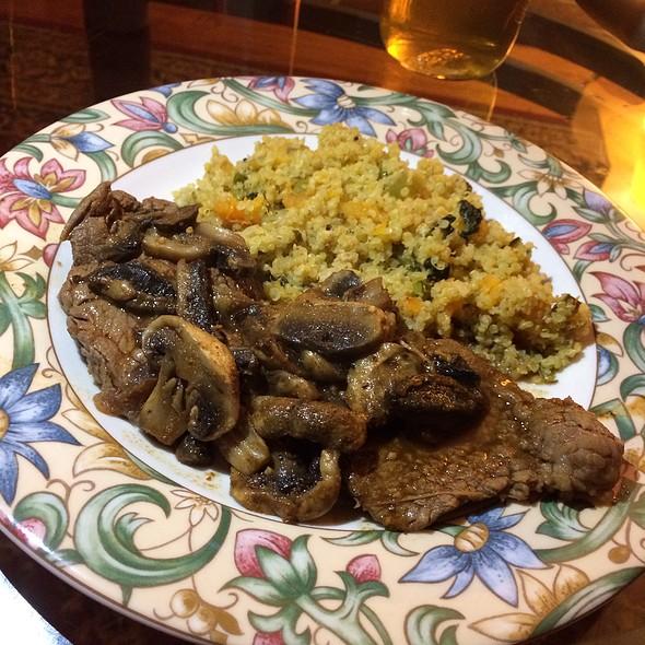 Steak And Butternut Squash Quinoa @ Home