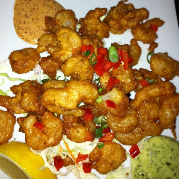 Popcorn shrimp @ Tap House Grill