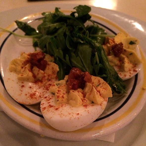 Deviled Eggs With Bacon - Public House - Chattanooga, Chattanooga, TN