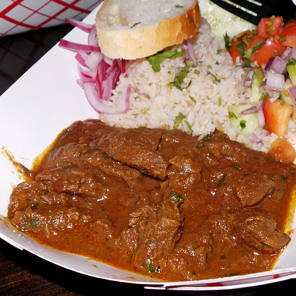 Homestyle Lamb Curry @ Bombay Duck Co.