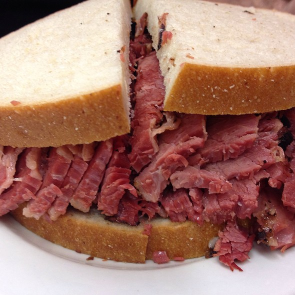 Pastrami on Rye @ Katz's Delicatessen Inc