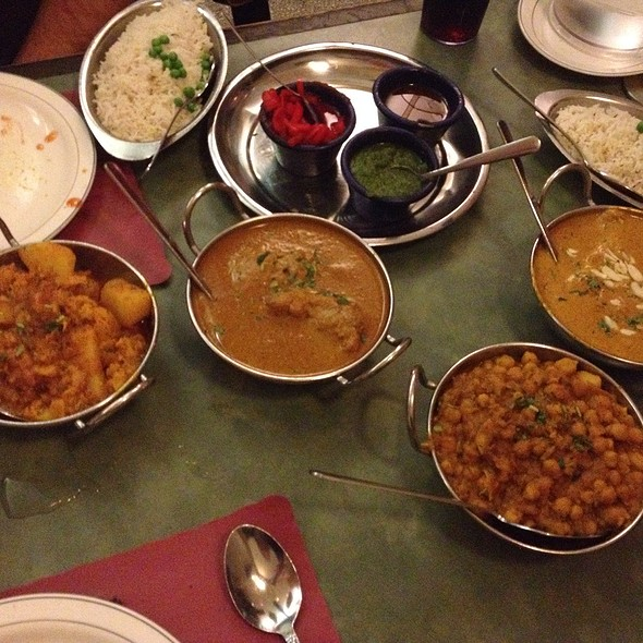 An Indian Feast! @ Jackson Diner