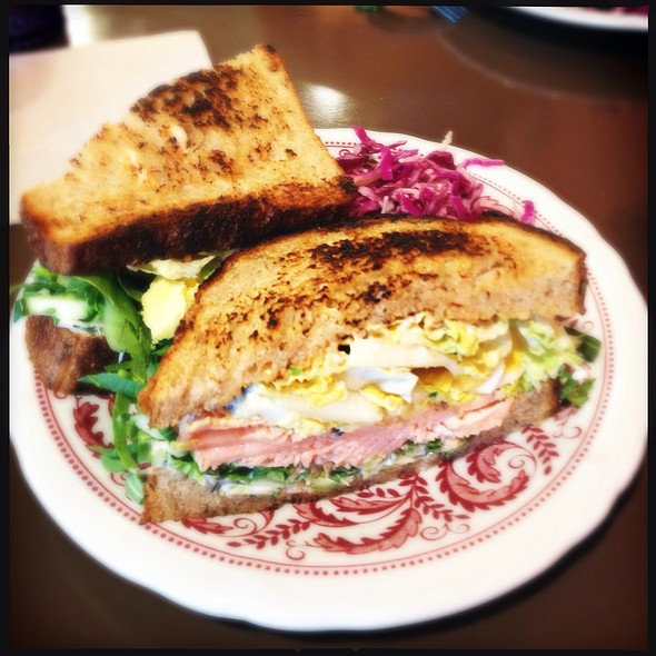 Salmon Sandwich