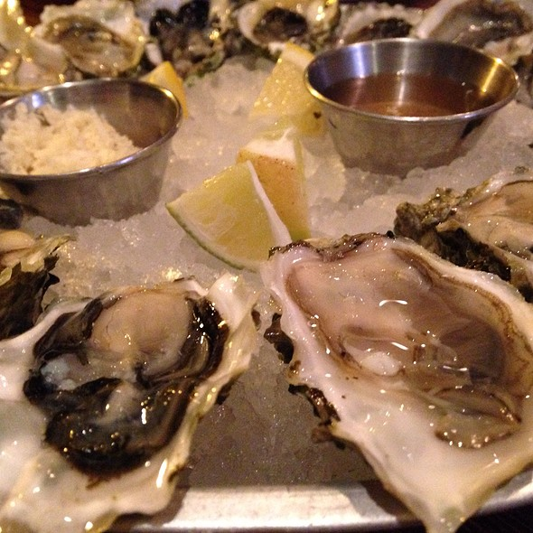 Fresh Oysters - Merchant's Oyster Bar, Vancouver, BC