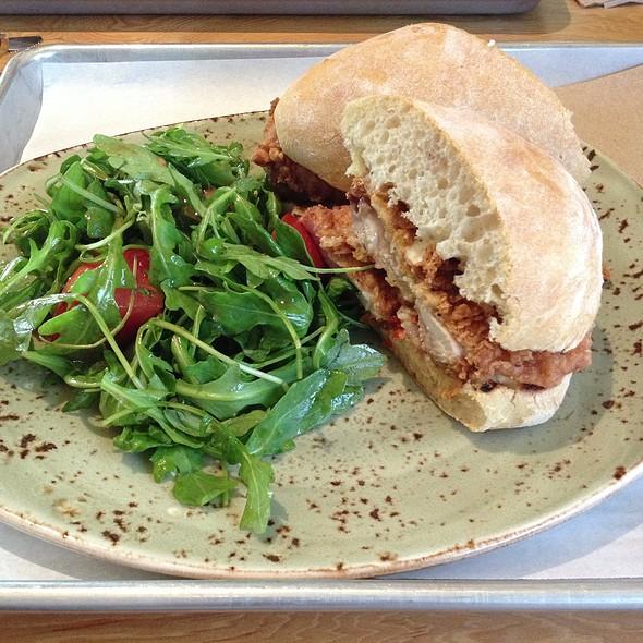 Southern Fried Chicken Sandwich @ Tender Greens