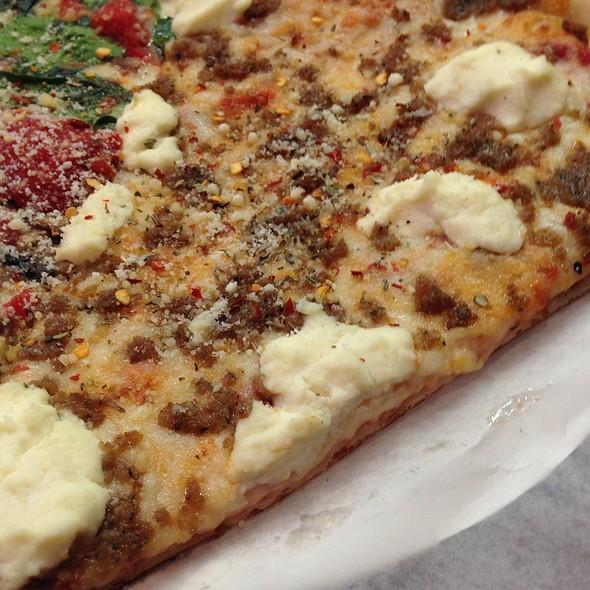 Almost Lasagna Slice @ Sicilian Thing Pizza