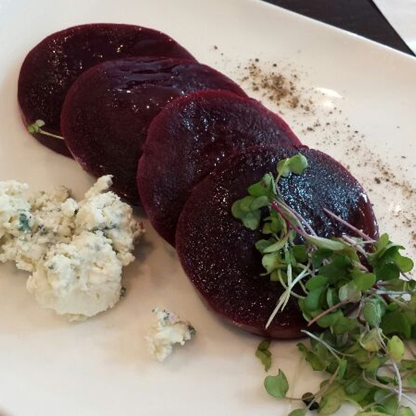 Slow Roasted Beets - blu on the Avenue, Winter Park, FL
