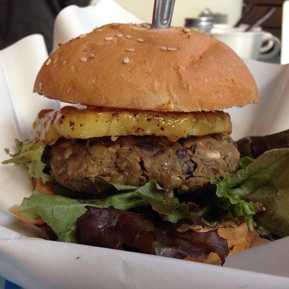 Teriyaki Vegan Burger @ Veggie Smalls