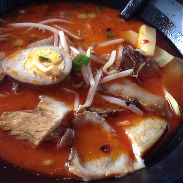 Hot & Spicy Ramen @ Sapporo Ramen