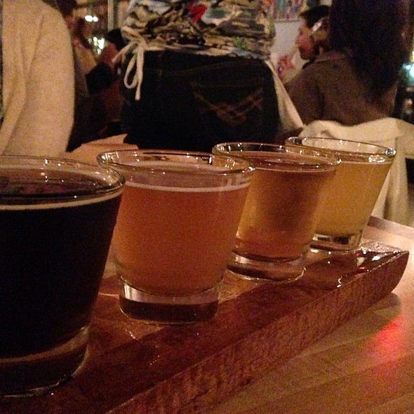 Gateway Beer Flight @ LUCK (Local Urban Craft Kitchen)