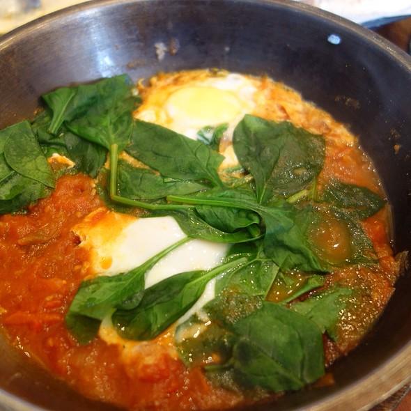 Green Shashuka - Hummus Kitchen, New York, NY