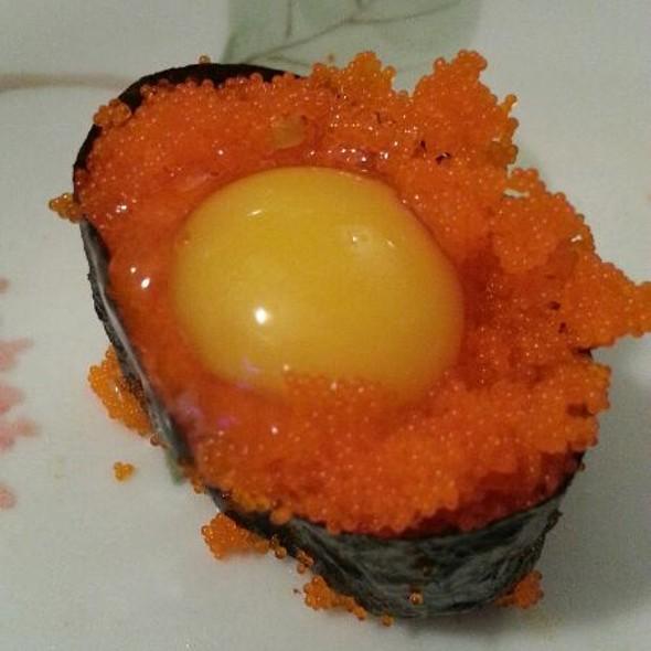 Tobiko Nigiri Sushi On the Run Menu ...