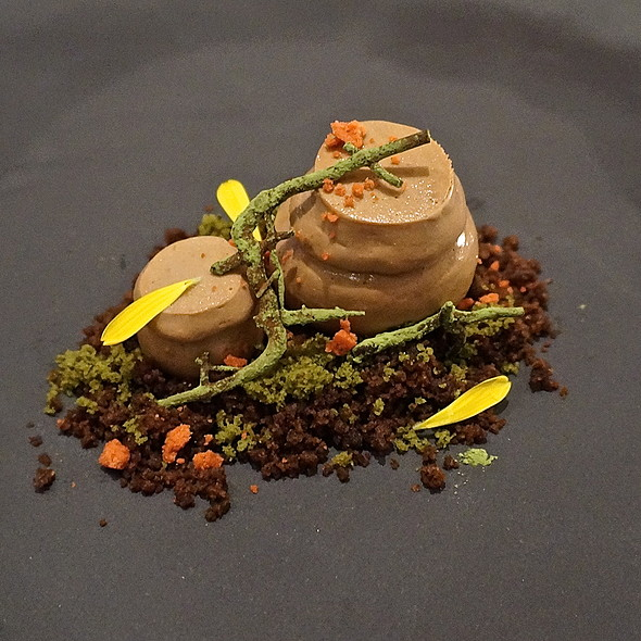 Jang dok – milk chocolate and early grey mousse, chocolate cake crumble - JUNGSIK, New York, NY