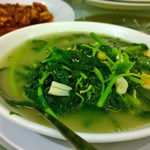 spinach soup chinese style