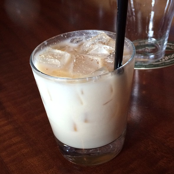 Bourbon Milk Punch at Armsby Abbey