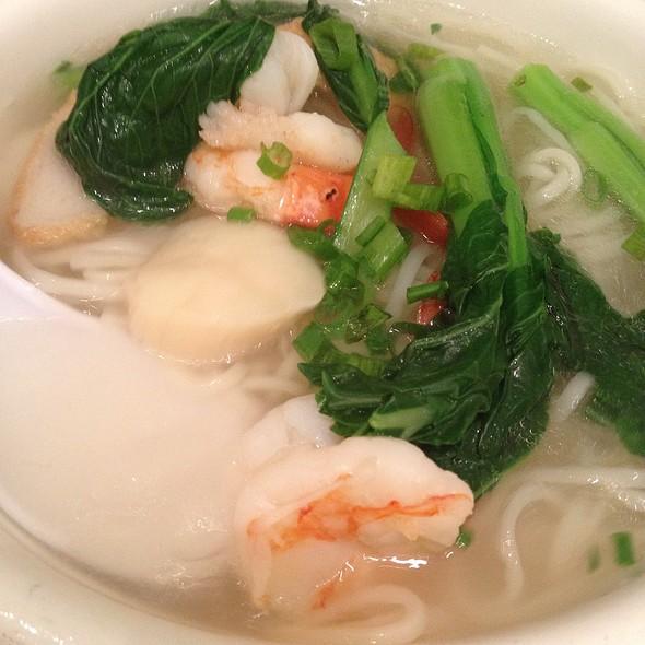Seafood Noodle Soup - Beijing Noodle Bar - Caesars Palace Las Vegas, Las Vegas, NV