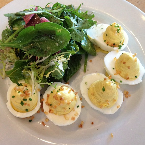 Curried Deviled Eggs @ Kitchen Door