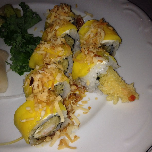 Shrimp With Mango @ Amura Japanese Restaurant & Sushi