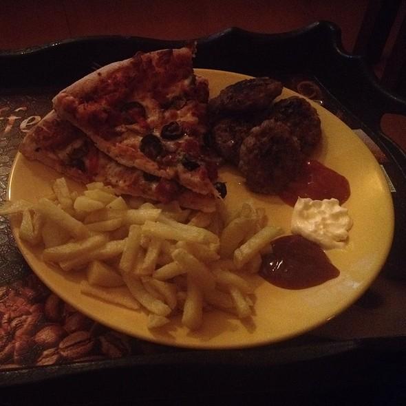 Pizza Meatball Potato @ Home