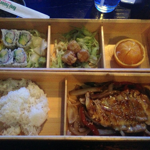 Chicken Teriyaki Box @ Kenji Fusion Asian