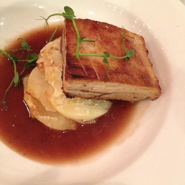 Pork Belly With Dauphinoise Potato @ Fleet Street Kitchen