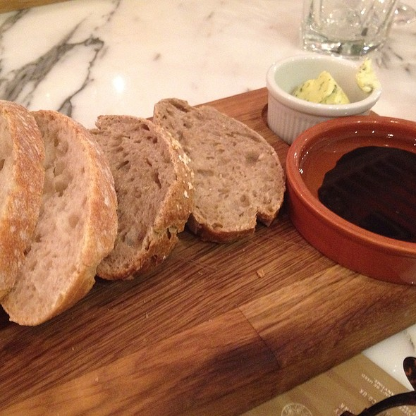 Bread With Balsamic Vinegar, Olive Oil And Herb Butter @ Fleet Street Kitchen
