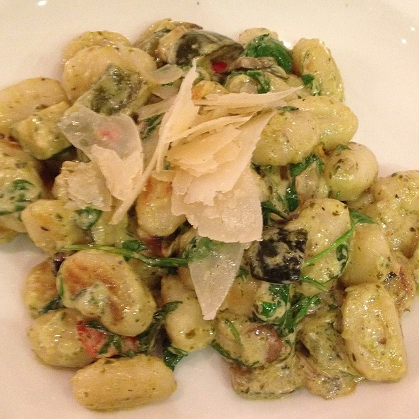 Gnocchi With Roasted Vegetables And Parmesan @ Fleet Street Kitchen
