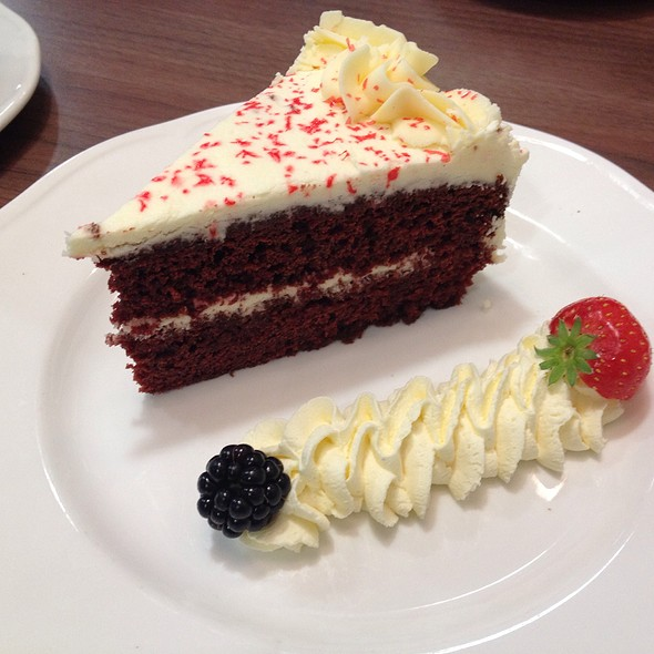 Red Velvet Cake @ Edwardian Tea Room