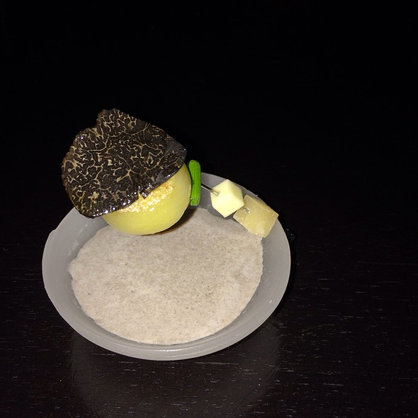 Hot Potato Cold Potato With Black Truffle And Butter
