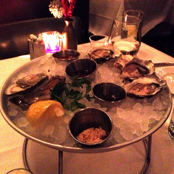 Miranda Cove Oysters - Atlantic Grill, Eastside, New York, NY