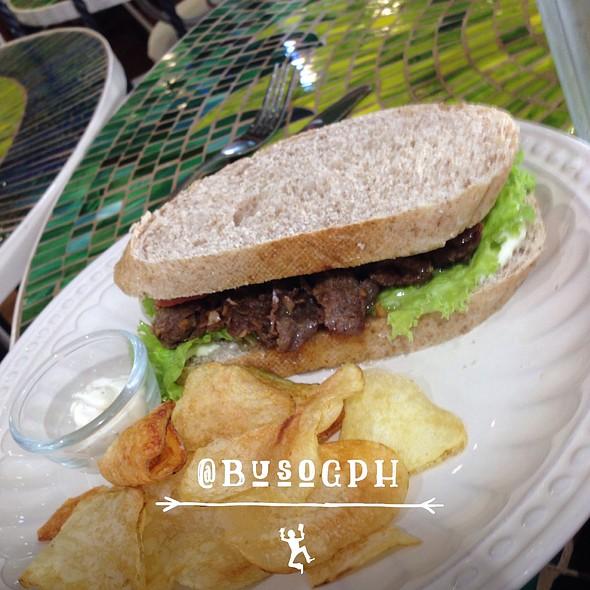 Fili Beef Steak Sandwich @ Cafe Mary Grace Sm North