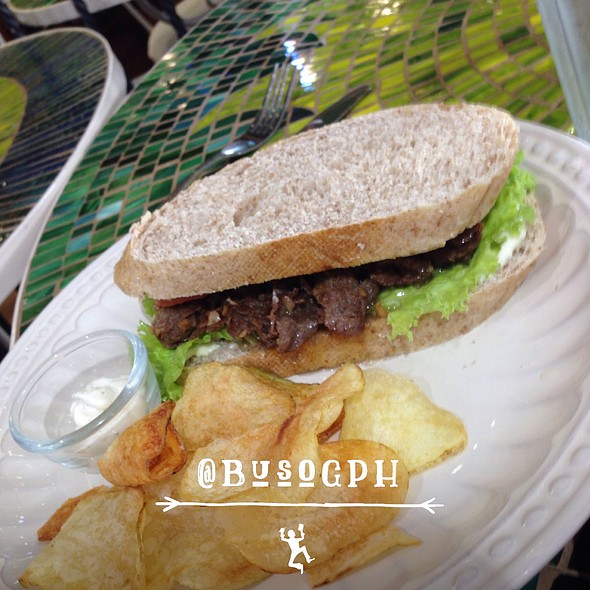 Fili Beef Steak Sandwich @ Cafe Mary Grace Sm North