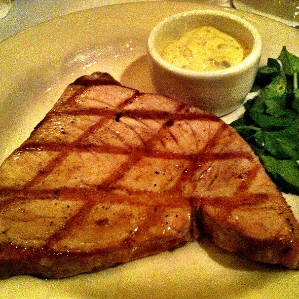 Grilled Hawaiian Yellow Fin Tuna - Hayes Street Grill, San Francisco, CA