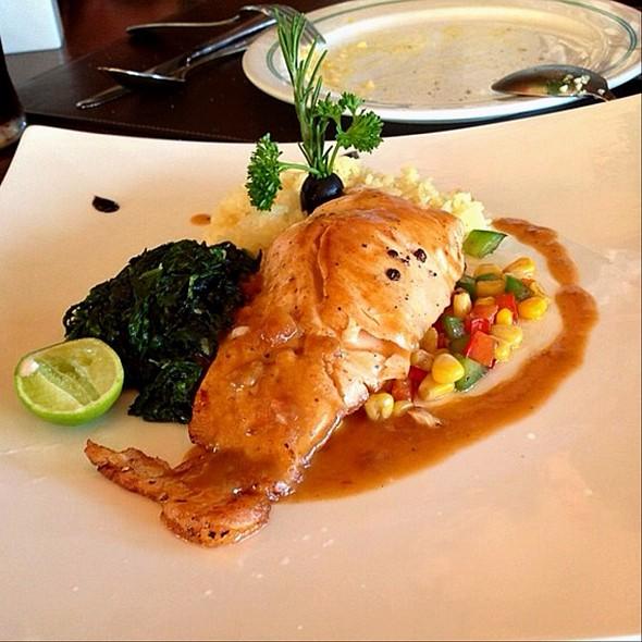 Grilled Salmon @ PB Valley Khao Yai Winery
