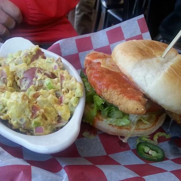 Buffalo Chicken Tender Sandwich @ Windjammer Lounge
