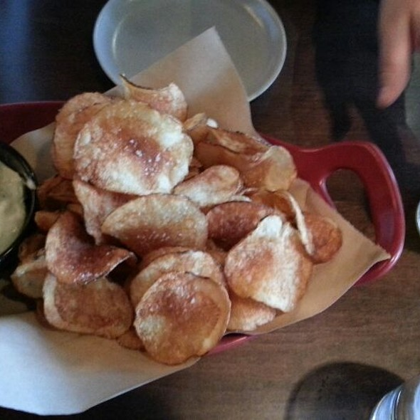 Housemade Chips And Dip @ Culinary Dropout