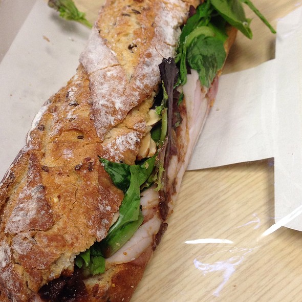 Holiday Ham & Fig Chutney On Artisan Bread @ Pret A Manger