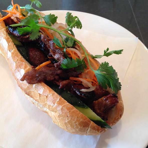 Pork Banh Mi @ Miss Chi Vietnamese
