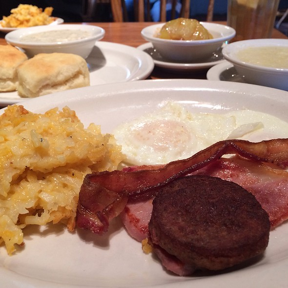Sunrise Sampler @ Cracker Barrel Old Country Store