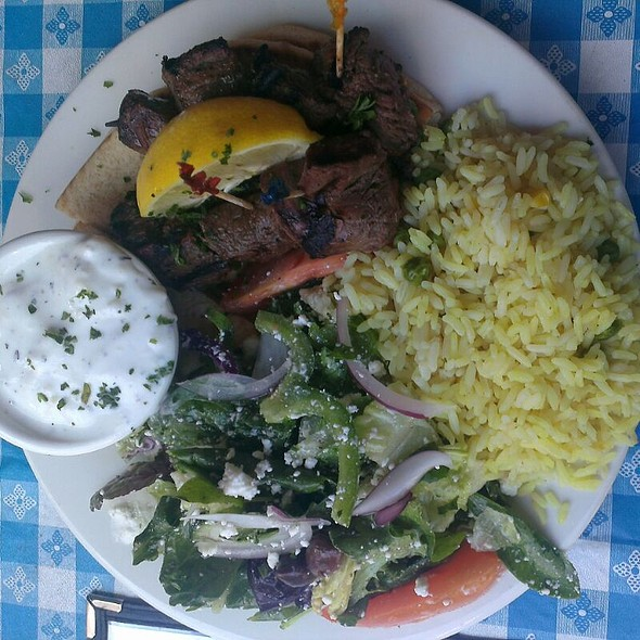 Souvlakia Beef @ George's Greek Cafe