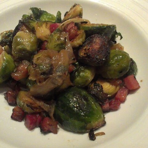 Duck Fat Roasted Brussels Sprouts at Craigie On Main