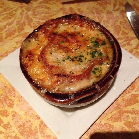 Soupe à l'oignon gratinée - The French Gourmet, San Diego, CA