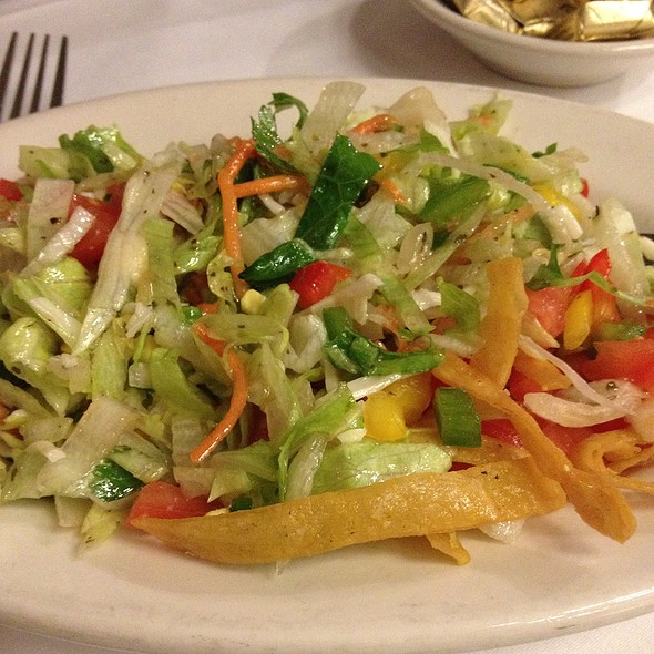 Refreshing Chopped Salad - SPAGIO, Columbus, OH