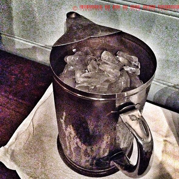 Ice Water - Gadsby's Tavern, Alexandria, VA