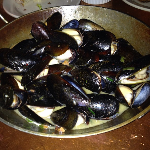 Wood-Oven Roasted Mussels - Fore Street, Portland, ME
