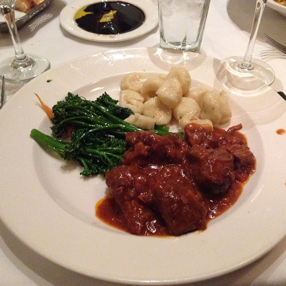 Wild Boar With Gnocci And Brocolini - Il Fornaio - Sacramento, Sacramento, CA