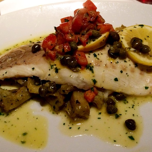 Medeterranean Sea Bass W/ Artichoke Hearts - Ca Del Sole, North Hollywood, CA